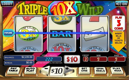 Slot machine real money free